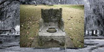The Jefferson David Memorial Chair