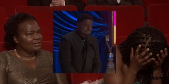 Daniel Kaluuya's mother and sister react to his Oscar acceptance speech