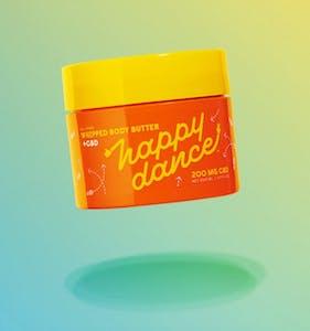 Happy Dance's CBD body butter cream
