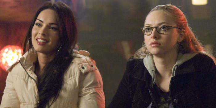 megan fox and amanda seyfried in jennifer's body