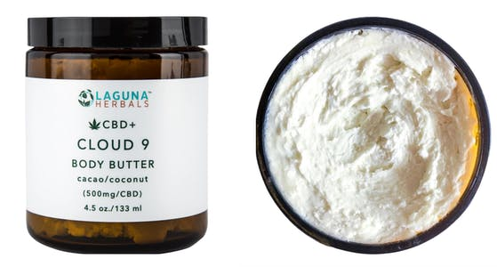 laguna herbals CBD body butter cream