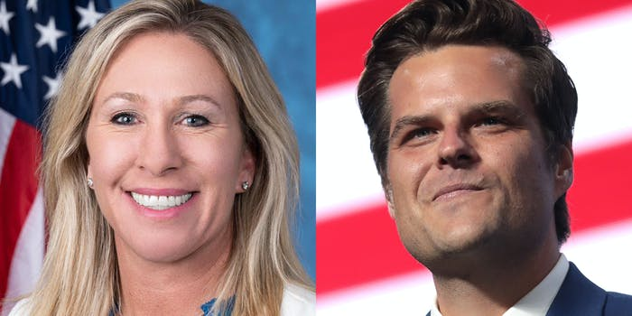 marjorie taylor greene and matt gaetz