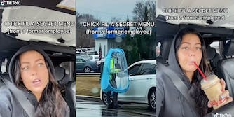 "former chick-fil-a worker on tiktok revealing ""secret menu"" hacks"