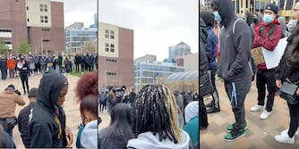minnesota teen student walkout police brutality derek chauvin trial daunte wright