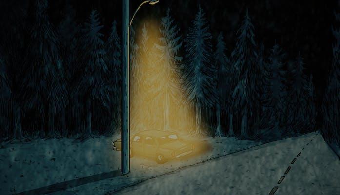 animated scene from sasquatch