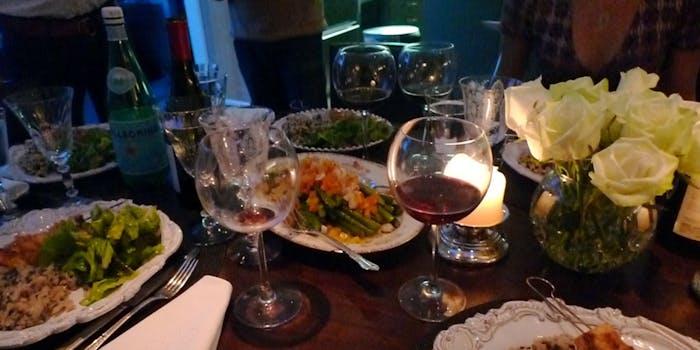 secret dinner parties