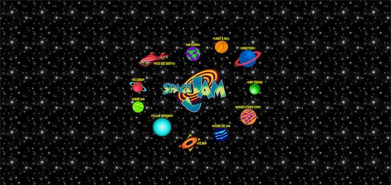 space jam 1996 website