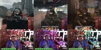 T-Pain playing Call of Duty