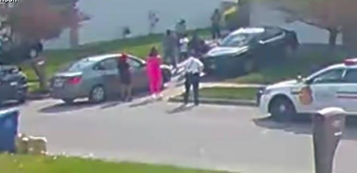 police shooting of Ma'Khia Bryant video