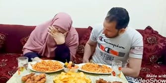 youtuber Umm Ziyad pretends to die in front of husband