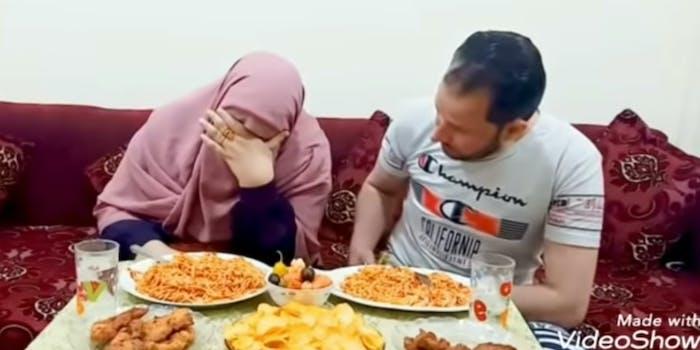 youtuber Umm Ziyad pretends to die in front of husband