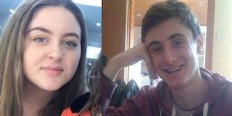 Caleb Horncastle and Hollie Poyner