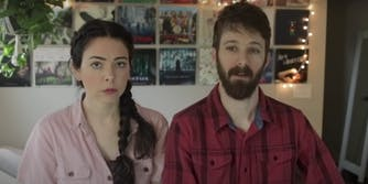 (L-R): Nikki and Dan Phillippi announce the reasoning behind putting their dog down