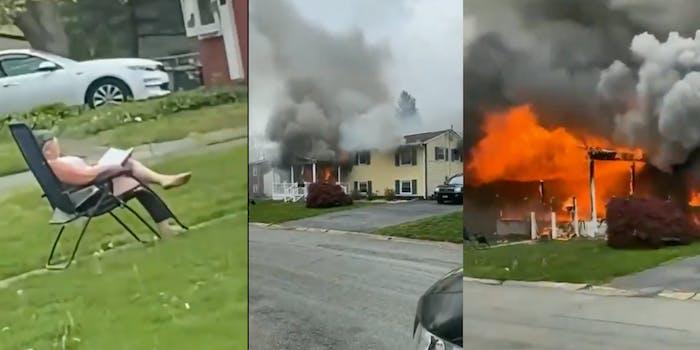 Maryland house fire