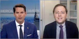 Obama speechwriter David Litt roasted Newsmax anchor about the Dominion lawsuit in a segment about SNL