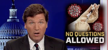 People want to know if Tucker Carlson is vaccinated follwoing his anti-vaccine propaganda