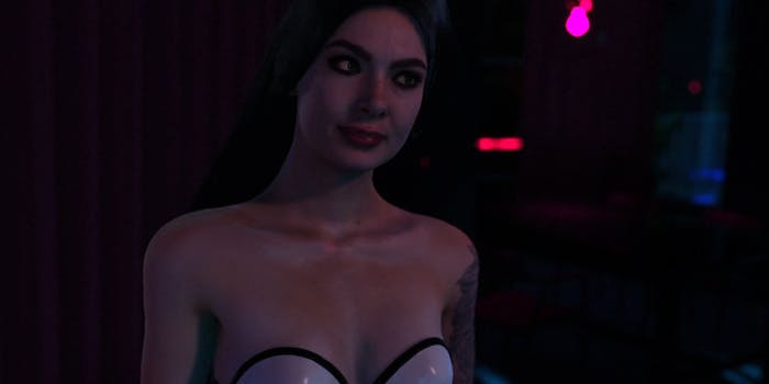 An image from Holodexxx's Lady Euphoria game