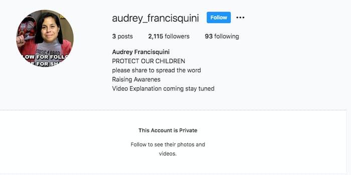 audrey_francisquini's instagram account