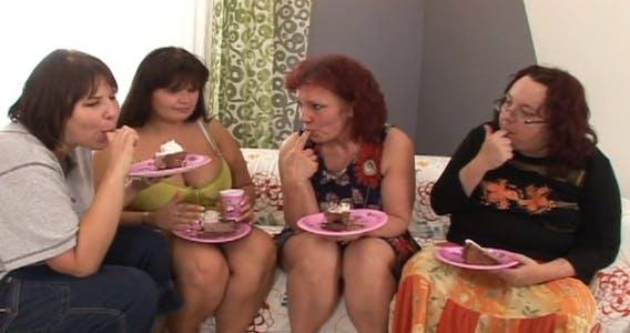 """Scene from """"Fatzilla"""" for BigFatCreampie.com"""