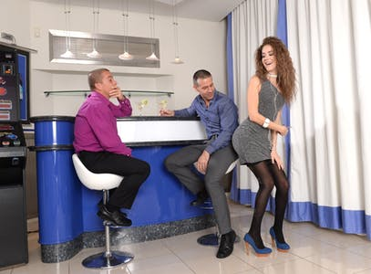 Matt Bird, Toby, and Monique Woods in a DPFanatics.com original.