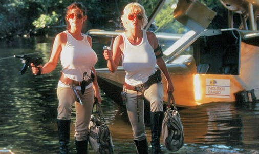 exotic movie house - return to savage beach