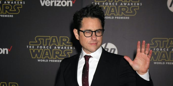 jj abrams at the force awakens premiere