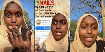 nail salon racial profiling brooklyn park mn ivy nails