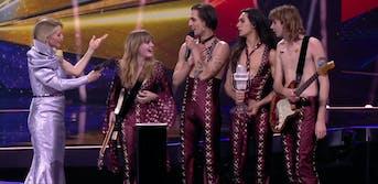 italian band måneskin on eurovision