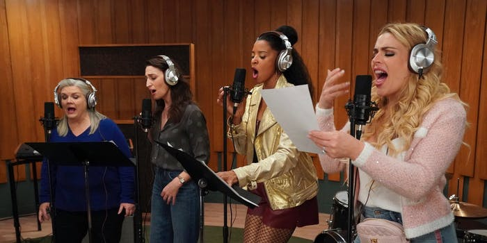 the girl group girls5eva singing in girls5eva
