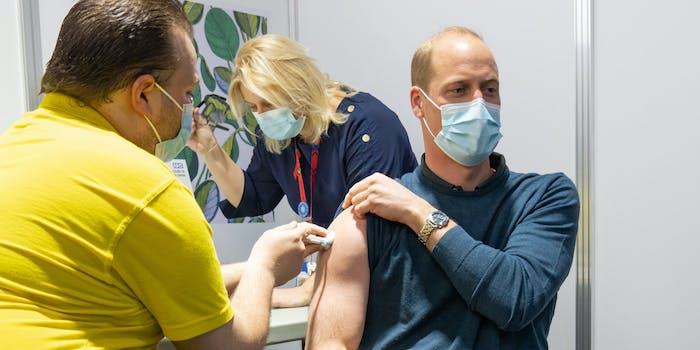 prince william vaccine