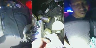 viral video cops drug test dead child ashes