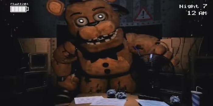The video game 5 Nights at Freddy's