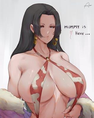 Boa Hancock from One Piece by Araneesama on Hentai Foundry