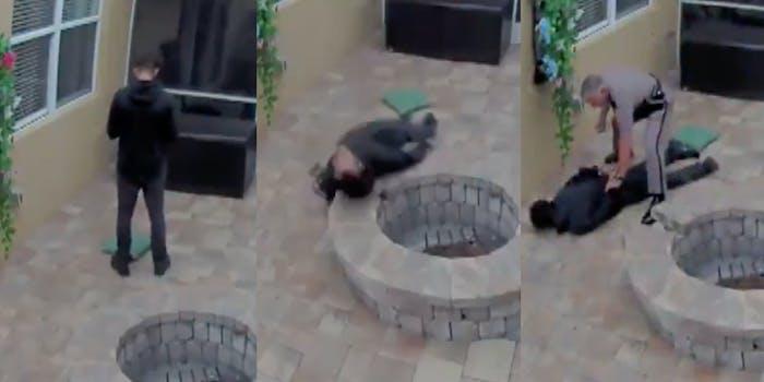 Black teen tased on girlfriend's back porch