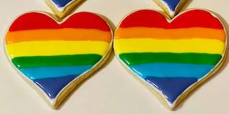 Rainbow cookies.
