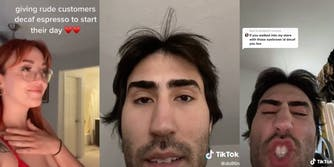 TikTok user @dolltin defended his point after criticisms