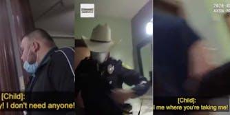 Bexar County Deputy Sheriff is seen tasing a migrant teen in Southwest Key Casa Blanca shelter.