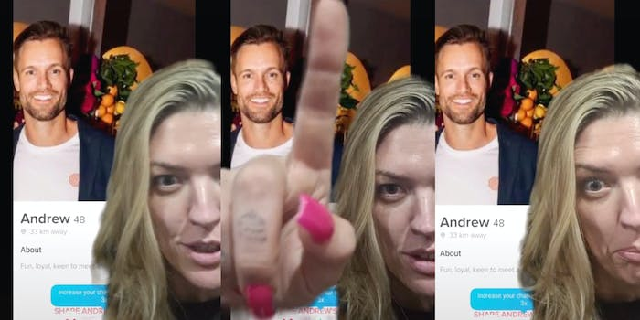 TikTok user calls out attempted catfish
