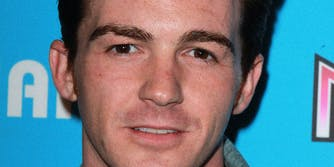 Drake Bell looking into the camera.