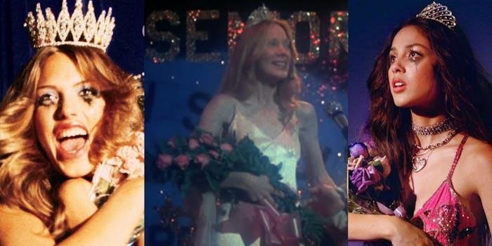 live through this art, carrie 1976, olivia rodrigo sour prom