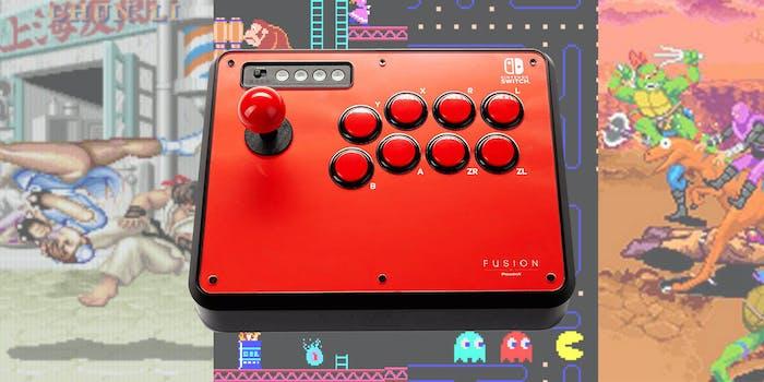 powera fusion arcade stick
