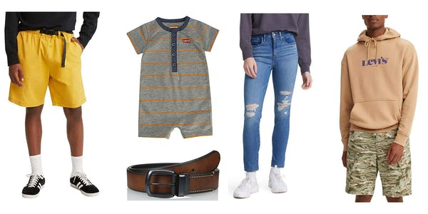 prime day 2021 levi's sale on men's women's baby and accessories