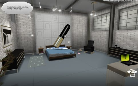 bullet vibrator from the XStoryPlayer porn game by xMoon productions