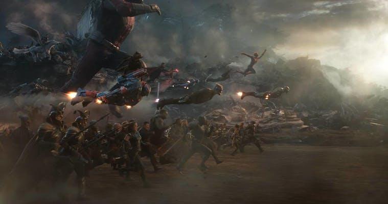 avengers endgame lighting