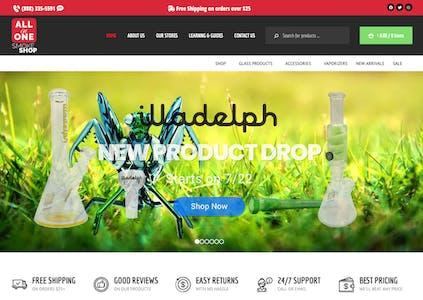 best online headshop all in 1 smoke shop