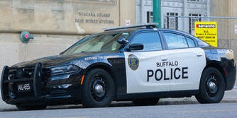 A Buffalo PD car.