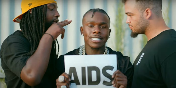 dababy in his new music video