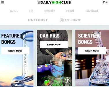 daily high club - one of the best online headshops