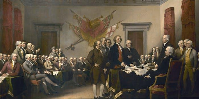 defund npr declaration of independence conservatives