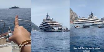 jeff bezos yacht in capri italy